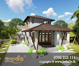 Low cost 4 Bedroom House Design for a small land designed by architectural firm in Kandy Sri Lanka