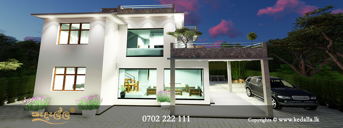 Box Type House Plans In Sri Lanka House Elevations Kedella