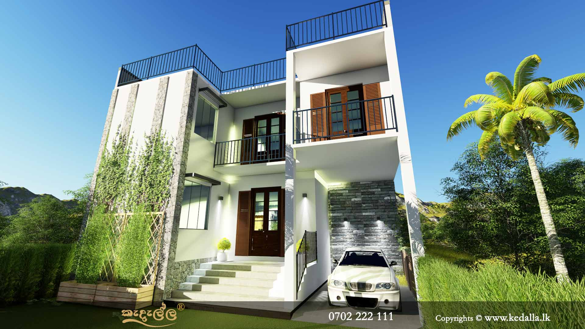Box Type House Plans in Sri Lanka |House Elevations|Kedella