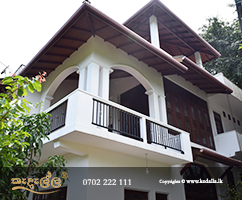 Three Story Completed House suitable for flat, suburban subdivisions as well as uneven and hillside lots