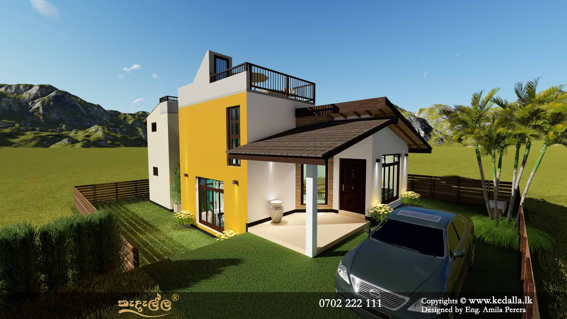5 Bedroom Box Model House Designs done by Top Architects for Sale in Sri Lanka