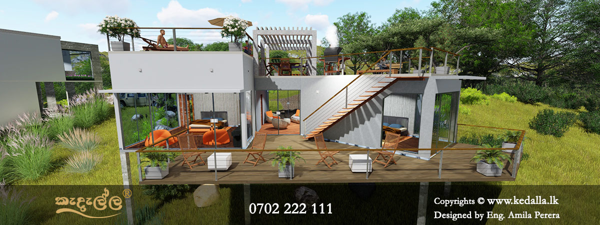 Kedalla Architectural Consultant offers commercial architectural services for small to large businesses in Sri Lanka. 0702 222 111