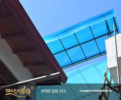 Canopy an overhead roof structure that has open sides build by top contractors in Sri Lanka