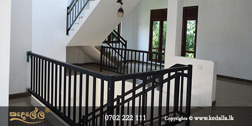 Building contractors in sri lanka is fixing wooden or steel indoor staircases Hand railings Stair railings