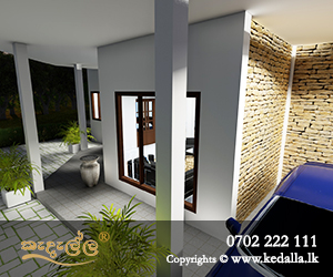 House contracors in Kandy Designed outdoor living space house with Open veranda in Sri Lanka