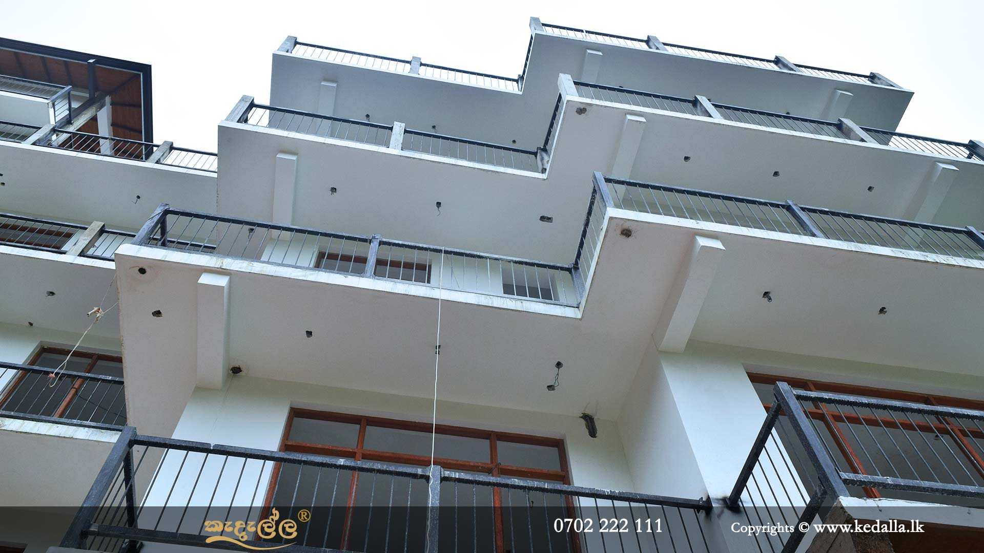 Luxury multy story box model house construction by Modern House Builders in Kandy Sri Lanka