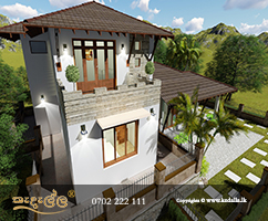 Creative house planners in Kandy sri lanka designed house plans which facilitate stormwater drainage master plans
