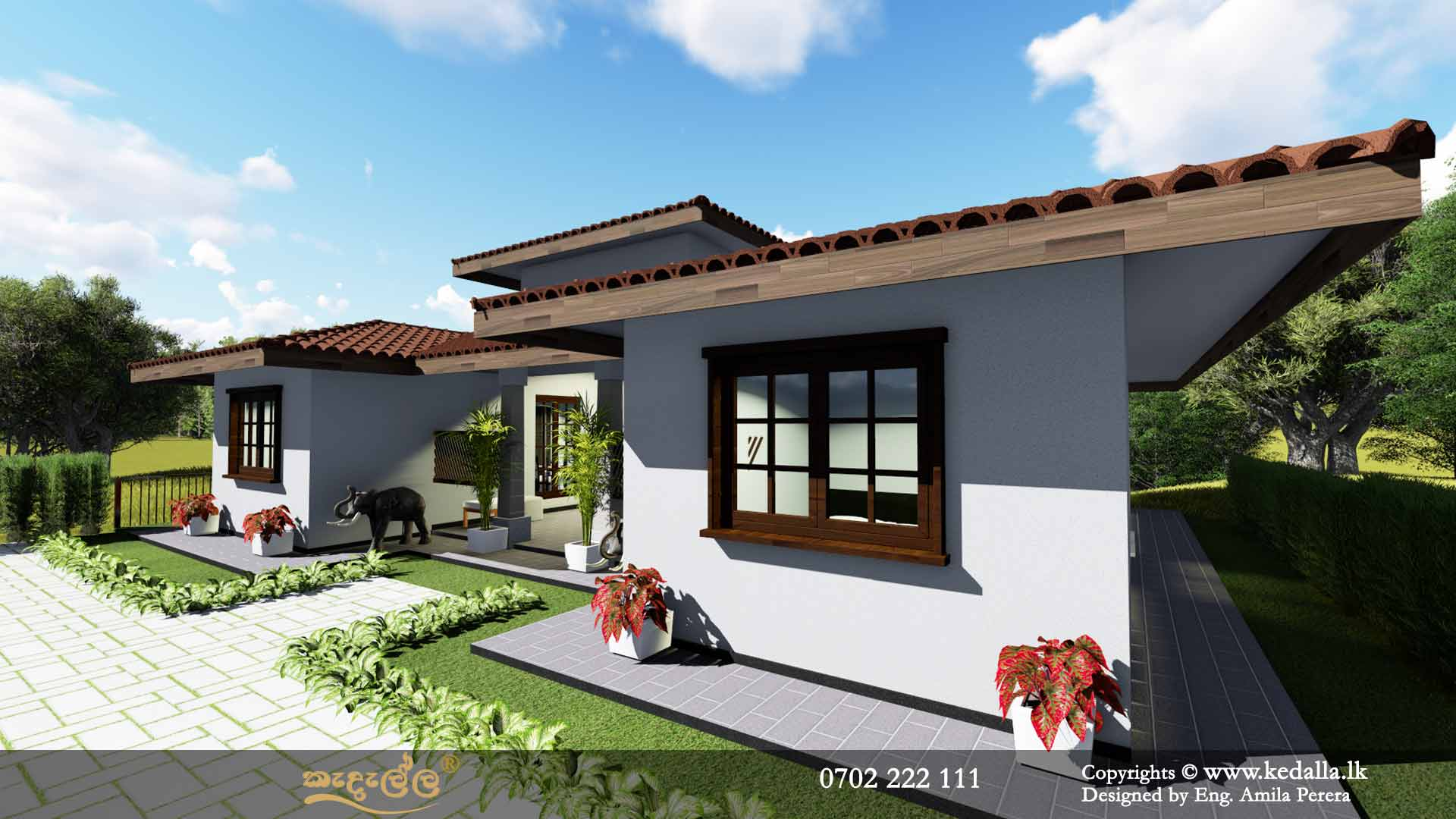 Home designers and draughtsman in Kandy sri lanka designed house plans for handicap/diable persons