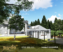 House designs done by Best Home designers in Sri Lanka considering the site planning objectives