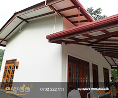 Conversion of a town house into two apartments by whole-building renovation company in Sri Lanka