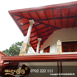 Roof type two story renovated house in sri lanka