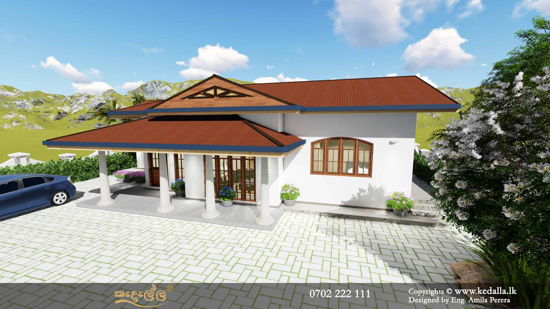 Single Story House Plans In Sri Lanka3d Planskedallalk