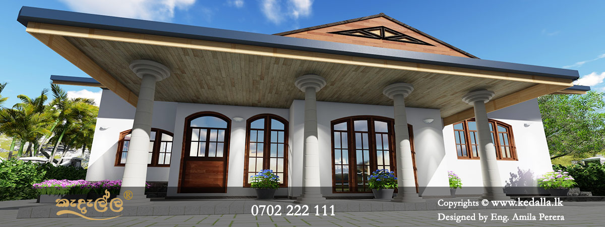 Small home plans with pictures in Sri Lanka designed by architects in kandy