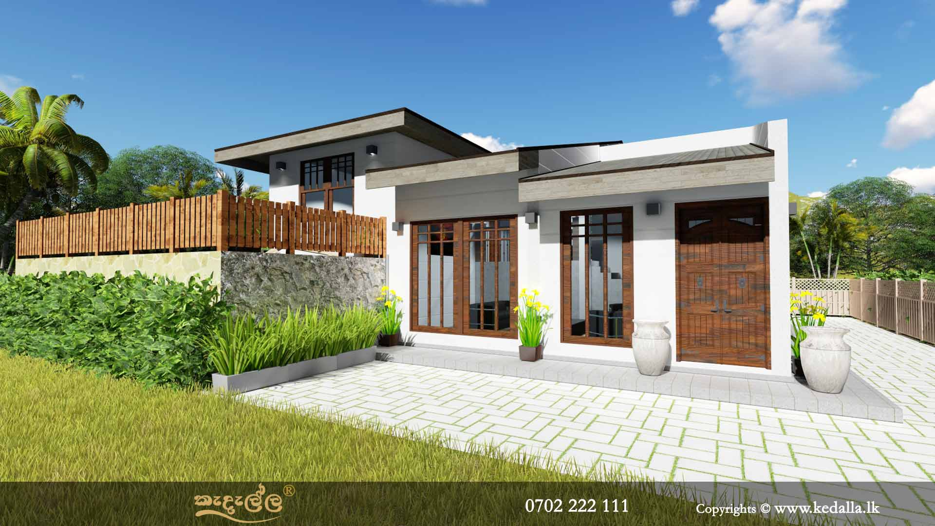 Small Home Plans single story - Get Modern 3 Bedroom House Low Cost Small House Design Background