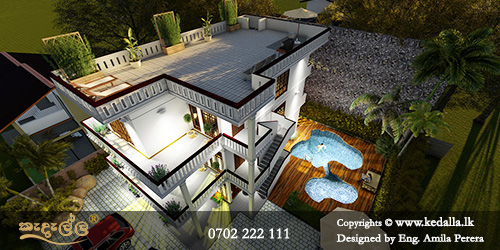 Responsibility of Kandy home architect to transform human needs, desires into visual concepts and habitable structures